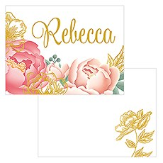 Modern Floral Multi-purpose Flat Card