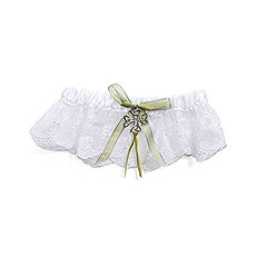 Celtic Charm Bridal Garter