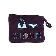 Wet Bikini and Swimsuit Bag - Navy