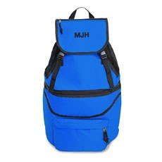 Expandable Cooler Backpack - Blue