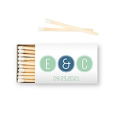 Custom Matchbox Wedding Favor - Smart Type