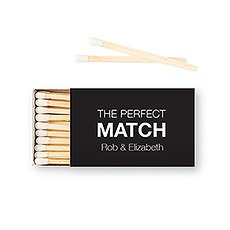 Custom Matchbox Wedding Favor - The Perfect Match