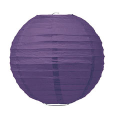 Large Paper Lantern - Purple