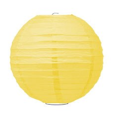 Large Paper Lantern - Sunflower