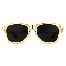 Cool Favor Sunglasses - Metallic Gold
