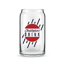 Can Shaped Glass Personalized - Retro Pop Printing