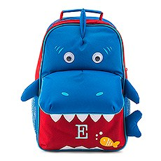 Personalized Kids' Backpack - Shark