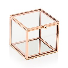 4589 56 w small glass jewelry box with rose gold trimb5e8646457bd8a4c613bfdd622efc41b