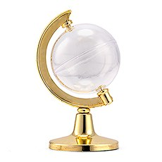 Mini Globe Party Favor - Gold (2)