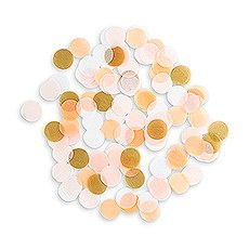 Spring Mix Jumbo Party Confetti - Pink, Blush, Gold