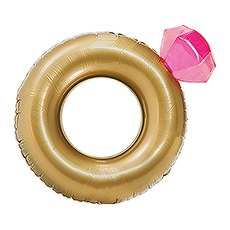 Giant Inflatable Pool Float Toy - Diamond Ring