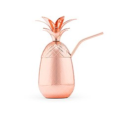 Pineapple Cocktail Cup - Copper