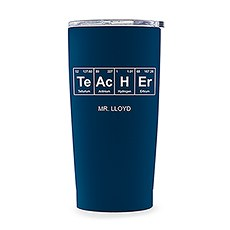 Stainless Steel Travel Mug - Periodic Table Teacher Printing
