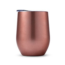 Stemless Travel Tumbler - Rose Gold