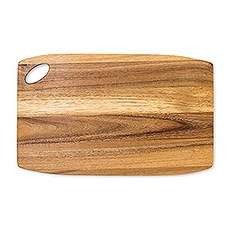 Wooden Rounded Rectangle Cutting & Serving Board