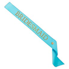 Bridesmaid Ribbon Sash