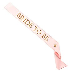 Bride To Be Ribbon Sash
