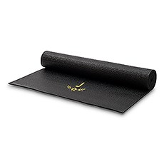 Custom No-Slip Yoga Mat - Floral Monogram