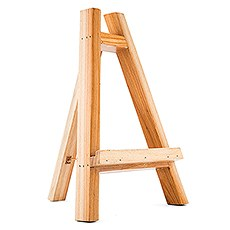 Wooden Wedding Tabletop Display Easel