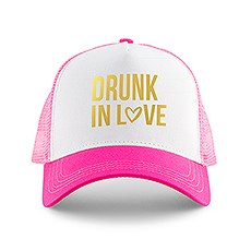 Wedding Party Snapback Trucker Hats - Drunk in Love