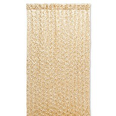 Custom Wedding Photo Backdrop Decoration - Gold Satin Flowers
