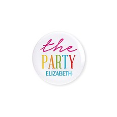 Personalized Bridal Party Wedding Pins - The Fiesta Party