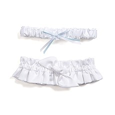 Beverly Clark's Tie the Knot Bridal Garter Set