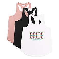 Personalized Bridal Party Wedding Tank Top - Fiesta Bride