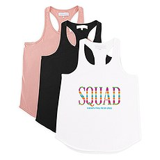Personalized Bridal Party Wedding Tank Top - Fiesta Squad