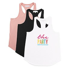 Personalized Bridal Party Wedding Tank Top - The Party