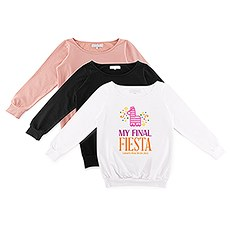 Personalized Bridal Party Wedding Sweatshirt - Final Fiesta