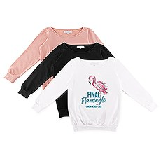 Personalized Bridal Party Wedding Sweatshirt - Final Flamingle