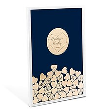 Personalized Drop Box Guest Book - Starry Night