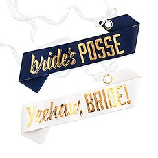 Paper Bachelorette Party Sash - Country Girl