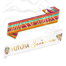 Paper Bachelorette Party Sash - Final Fiesta