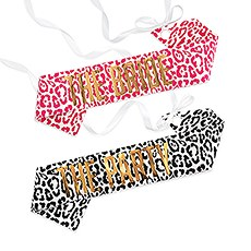 Paper Bachelorette Party Sash - Hot Glam