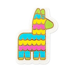 Cute Special Occasion Paper Party Napkins - Fiesta Piñata - Set of 20