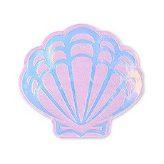 Cute Special Occasion Paper Party Napkins - Mermaid Seashell - Set of 20