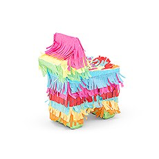 Mini Piñata Favor Box - Fiesta Donkey
