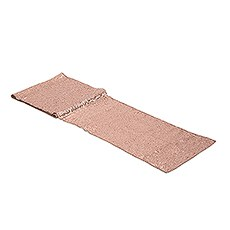 Modern Sparkle Sequin Table Runner - Metallic Rose Gold