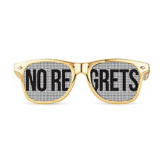Wedding Party Pinhole Sunglasses - No Regrets