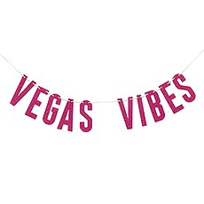 Paper Bachelorette Party Banner - Vegas Vibes