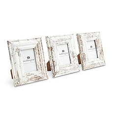 """Small 1.75"""" x 2.5"""" Distressed Wood Picture Frame"""