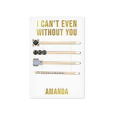 Custom Bridal Party Hair Clips - Can't Even Without You