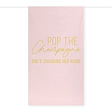 Printed Photo Backdrop Wedding Decoration - Pop the Champagne