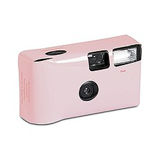Disposable Camera with Flash - Blush Pink