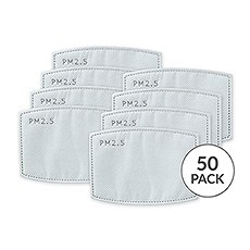 Kids PM 2.5 Protective Mask Filters - Pack of 50