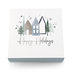 Christmas Gift Box with Magnetic Lid - Happy Holidays