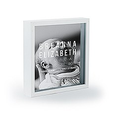 Personalized Baby Photo Box & Frame