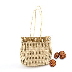 Mini Hessian Beach Bag Party Favors (6)